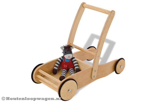 Loopwagen Adventure wood van Pinolino.