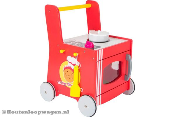 Woodtoys Keuken loopwagen | Houtenloopwagen.nl