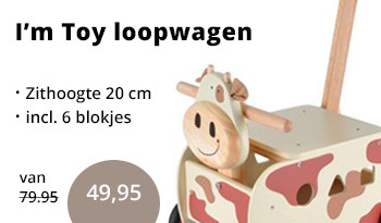 Loopwagen im toy